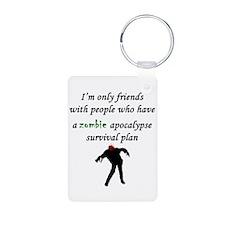 Zombie Plan Keychains
