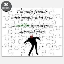 Zombie Plan Puzzle