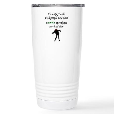Zombie Plan Travel Mug