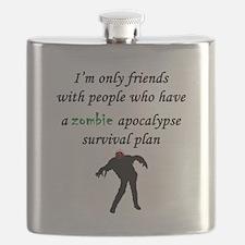 Zombie Plan Flask