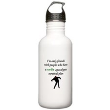 Zombie Plan Water Bottle