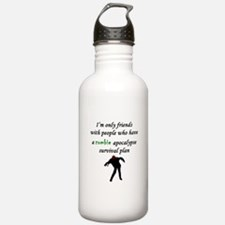 Zombie Plan Water Bottle