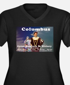 "Columbus Plus Size T-Shirt ""discover THIS&quo"