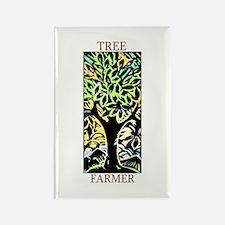 Tree Farmer Rectangle Magnet