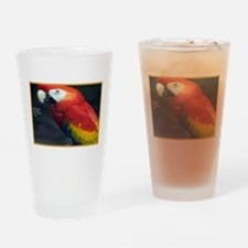 Parrot Humor Drinking Glass