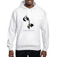 Freedom (Kanji Character) Hoodie