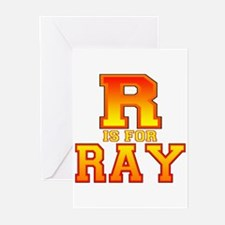 R is for Ray Greeting Cards (Pk of 10)