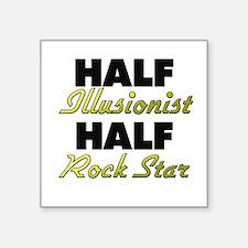 Half Illusionist Half Rock Star Sticker