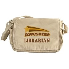Awesome Librarian Messenger Bag