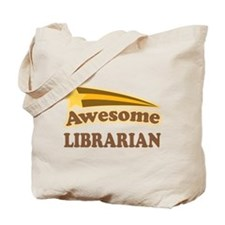 Awesome Librarian Tote Bag