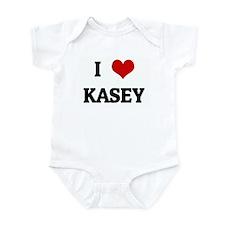 I Love KASEY Infant Bodysuit