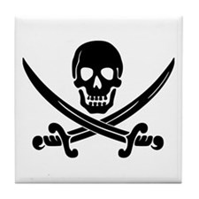 Pirate Tile Coaster