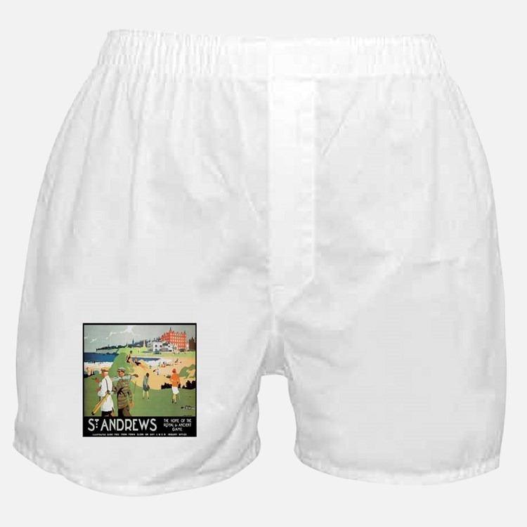 ST. ANDREW'S GOLF CLUB 2 Boxer Shorts