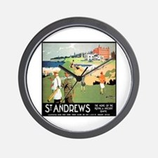 ST. ANDREW'S GOLF CLUB 2 Wall Clock
