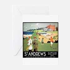 ST. ANDREW'S GOLF CLUB 2 Greeting Cards (Package o