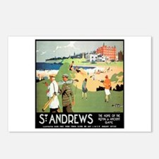 ST. ANDREW'S GOLF CLUB 2 Postcards (Package of 8)