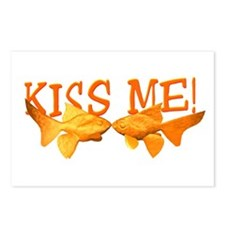 Kiss Me Goldfish Postcards (Package of 8)