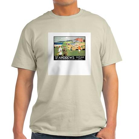 ST. ANDREW'S GOLF CLUB 2 Ash Grey T-Shirt