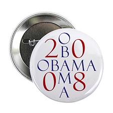 Obama (design 3) Button