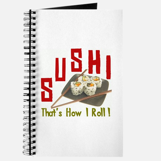 Sushi Roll Journal
