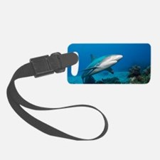 Reef shark Luggage Tag