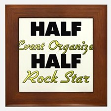 Half Event Organizer Half Rock Star Framed Tile