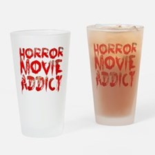 Horror movie addict Drinking Glass