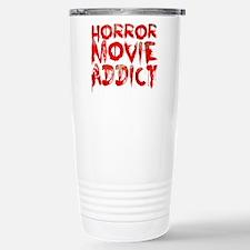 Horror movie addict Travel Mug