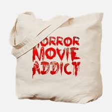 Horror movie addict Tote Bag