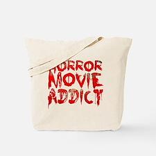 Horror movie addict Tote Bag