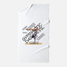Gymnastics Daredevil Beach Towel