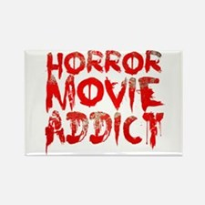 Horror movie addict Rectangle Magnet
