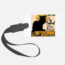 Jazz Music Chat Noir 2015 Luggage Tag