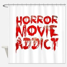Horror movie addict Shower Curtain