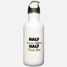 Half Escrow Officer Half Rock Star Water Bottle