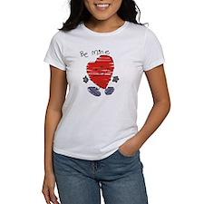 Be Mine Valentine Heart Tee