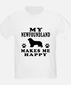 My Newfoundland makes me happy T-Shirt