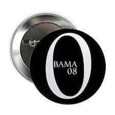 "Obama (black design 1) 2.25"" Button (100 pack)"