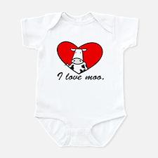 I Love Moo Infant Bodysuit