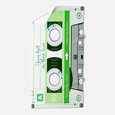 Cassette Tape - Green Beach Towel