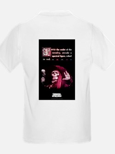 """Spectral Figure"" Design Kids T-Shirt"