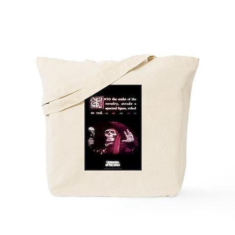 """""""Spectral Figure"""" Design Tote Bag"""