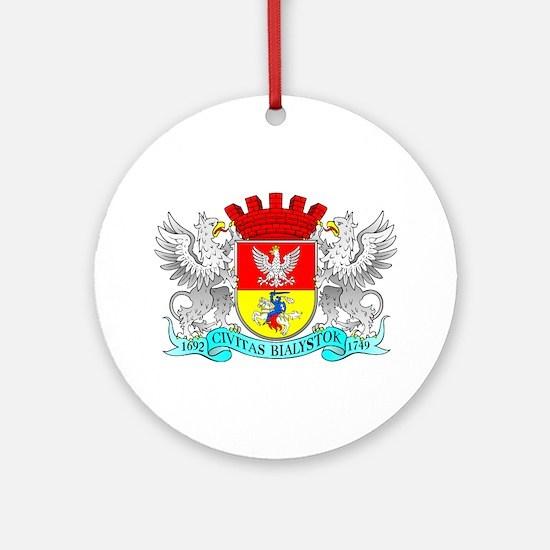 BIALYSTOK Ornament (Round)
