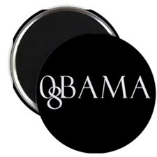 Obama (black design 2) Magnet