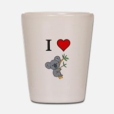 KOALA BEAR Shot Glass