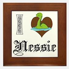 I [HEART] NESSIE Framed Tile