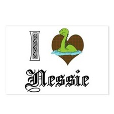 I [HEART] NESSIE Postcards (Package of 8)