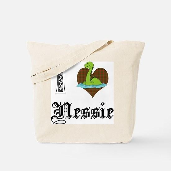 I [HEART] NESSIE Tote Bag