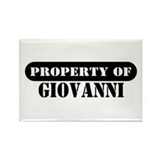 Property of Giovanni Rectangle Magnet