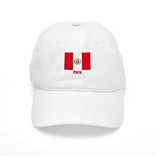 Peru Baseball Baseball Cap